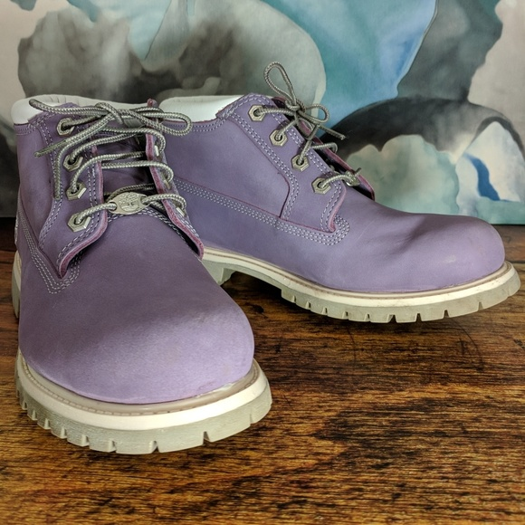 5479befb077 Timberland Nellie Waterproof Chukka Boots Purple 9